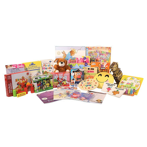 Boy & Girl Family Toy Hamper 0-3 Years