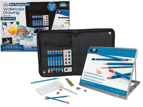 23pce Large Watercolour Studio Artist Set