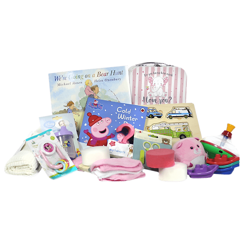 Baby Girl Hamper - 0 to 12 Months