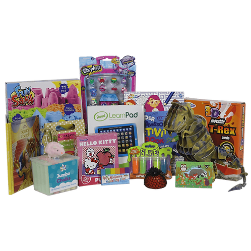 Girls Toy Box - 3 to 4 Years