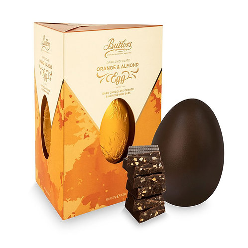 Butlers Dark Chocolate Orange and Almond - 235g