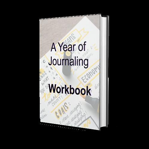 A Year of Journaling - Workbook