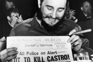 Allegedly, in the 1970's, a plot to kill Fidel Castro...FROM DUE DILIGENCE