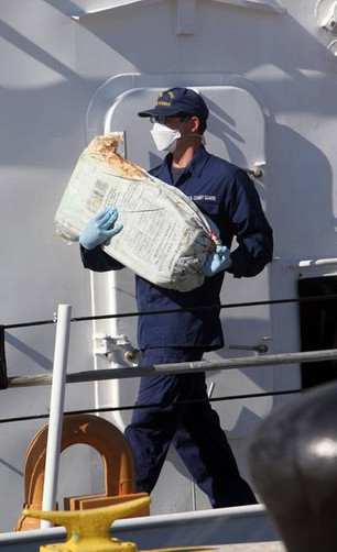 Cocaine seizure at high seas from go-fasts boats.  DUE DILIGENCE Chapter 4.