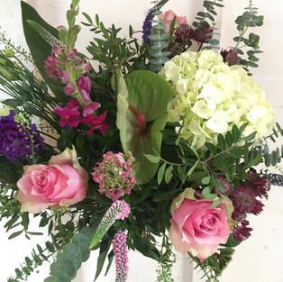 Garden style handtied bouquet
