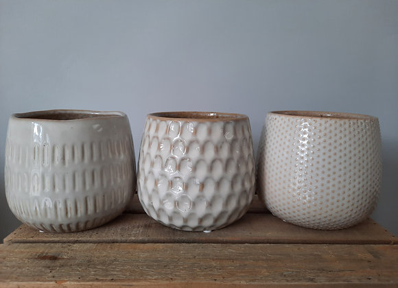 Neutral Glaze Pot