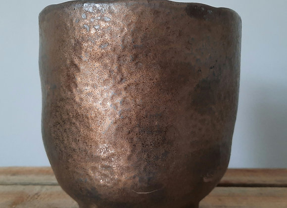 Bronze Footed Pot