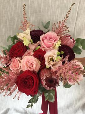 Deep reds & pinks palette
