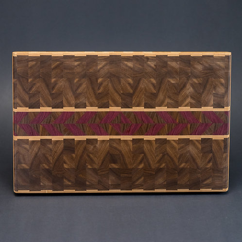 Chevron End Grain