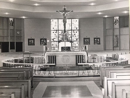 Picture of the temple in 1950