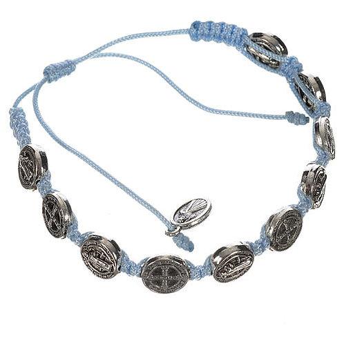 Single Decade St. Benedict Bracelet