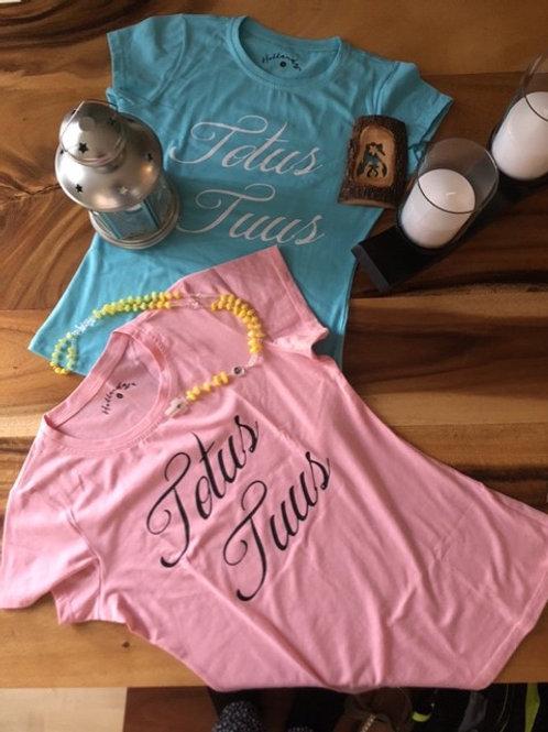 Totus Tuus Womens T-Shirts