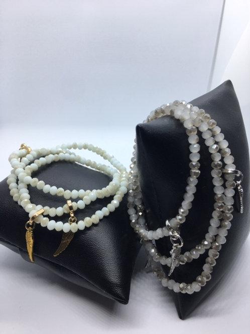 New wrap around bracelets with angel wings