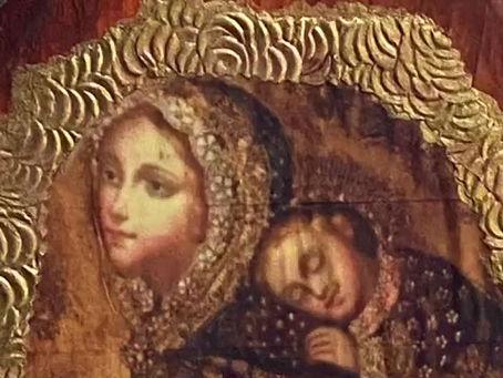 Wall Icon Rosary Holders (Handmade)
