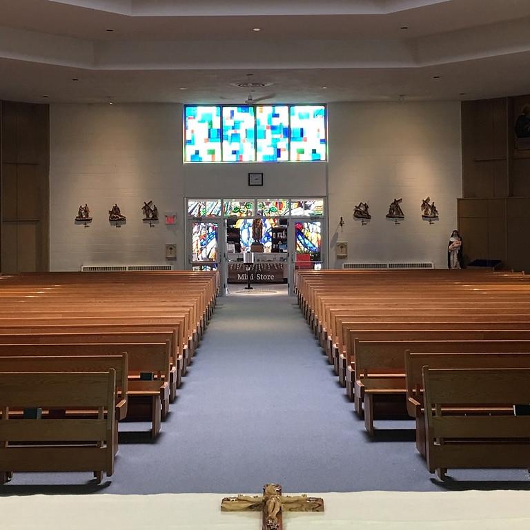 Saturday Vigil - 4pm Mass - English
