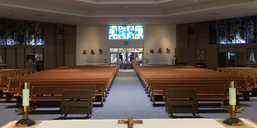 Image of the inside of the church