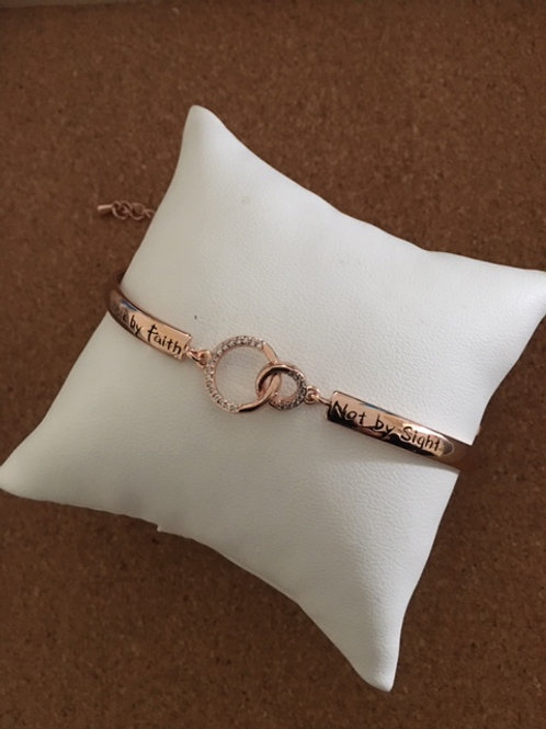 Rose Gold Bracelet - Inspirational