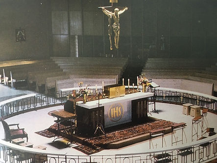picture of the church inside 50 years ago