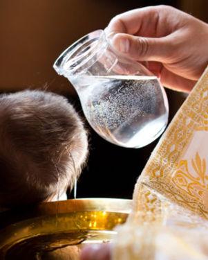 Baptism - picture of sacraments