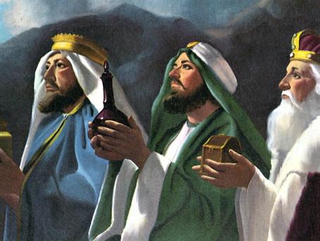 Christianity celebrates the Magi in January.
