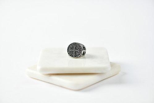 Mens St Benedict Ring
