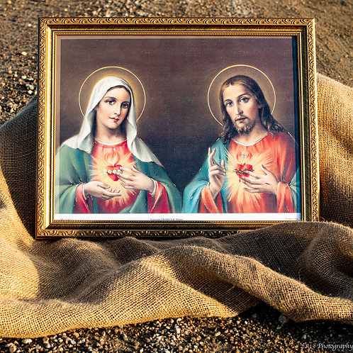 Immaculate Heart of Jesus & Scared Heart of Jesus