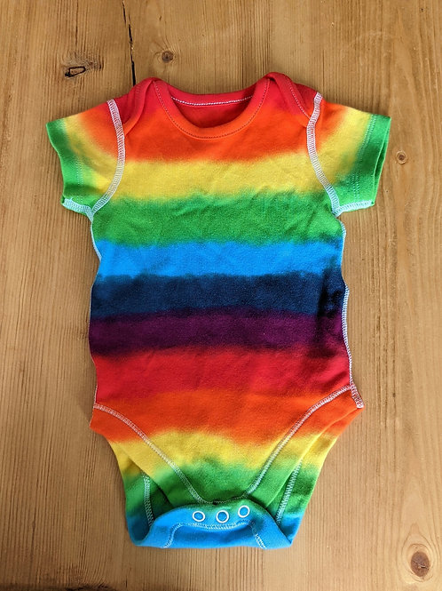 3-6 month rainbow vest
