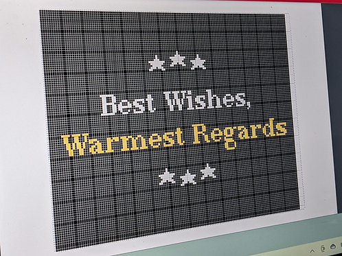 "Schitts Creek ""Best Wishes, Warmest Regards"" chart  :: Printable"
