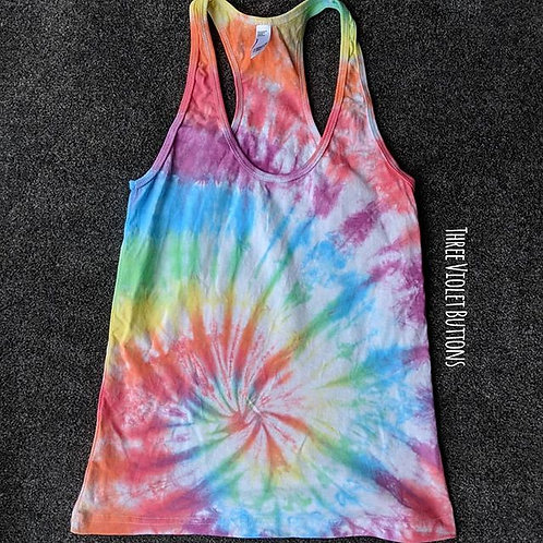 Spiral racer back vest top!