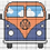 Thumbnail: Bus Cross Stitch Chart :: Printable