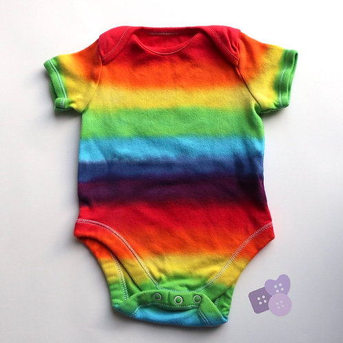Rainbow short sleeve vest!