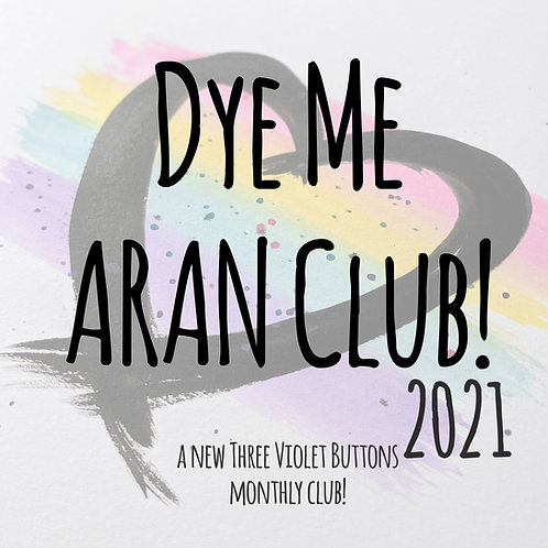 Dye Me Autumnal Aran Club :: month two!