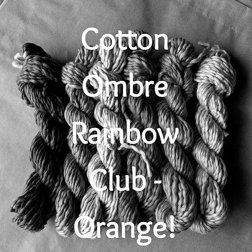 Cotton Ombre Rainbow Club 2020 - ORANGE