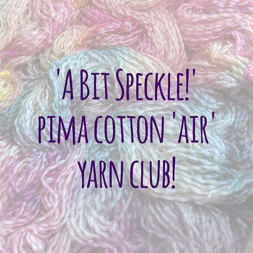 Yarn Club! :: 'A bit speckle' July!