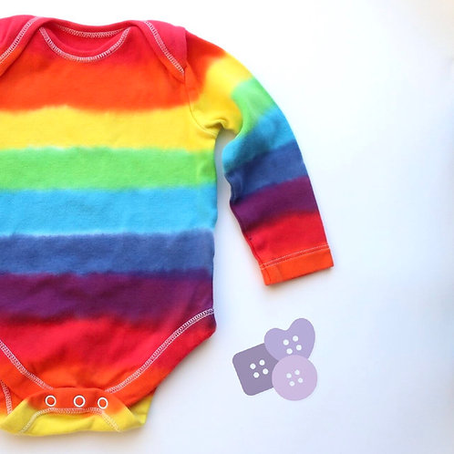 Rainbow long sleeve vest!