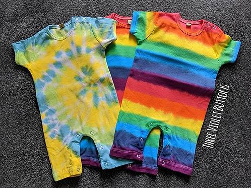 Baby Rainbow Romper!