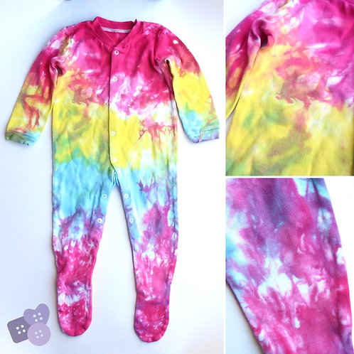 Funky choose-your-colours all in one sleep suit!