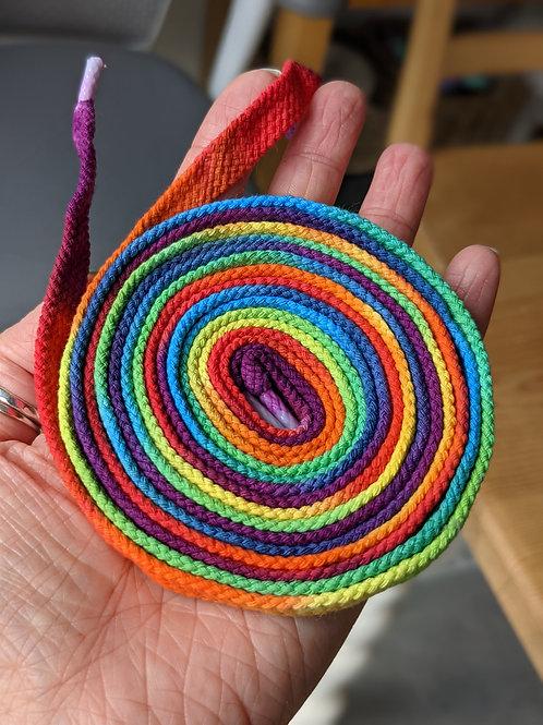 Rainbow laces :: 150cm (7-10 eyelet pairs)