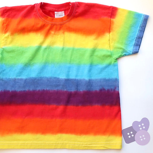 Childrens rainbow short sleeve tee!