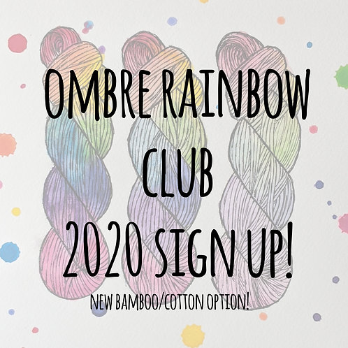 Cotton Ombre Rainbow Club 2020 - VIOLET!