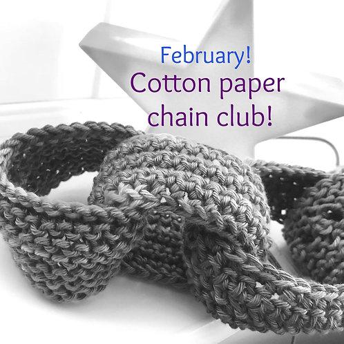 2020 Cotton Paper Chain Club - February