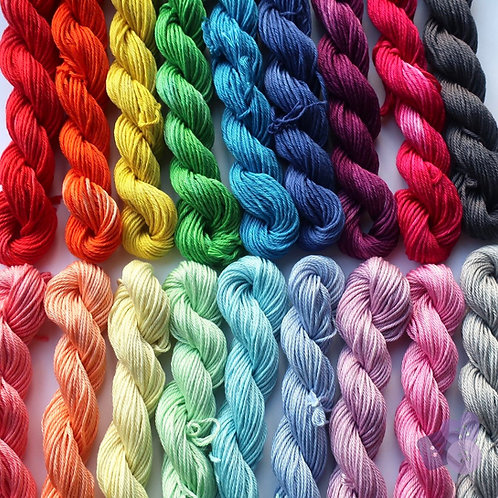 Semi solid skeins 100g
