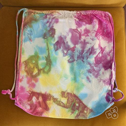 Funky drawstring bag!