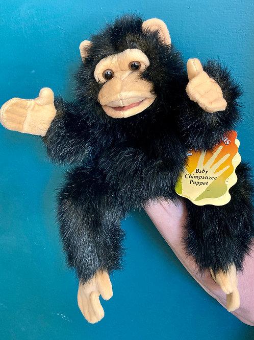 Baby Chimpanzee Hand Puppet (Folkmanis)