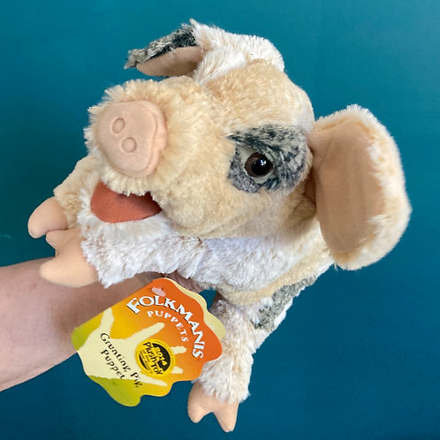 Grunting Pig Hand Puppet (Folkmanis)