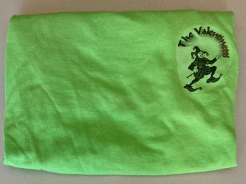VPM iron-on jester logo shirt