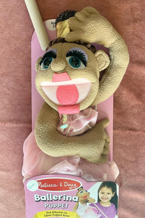Ballerina - Melissa & Doug Hand Puppets