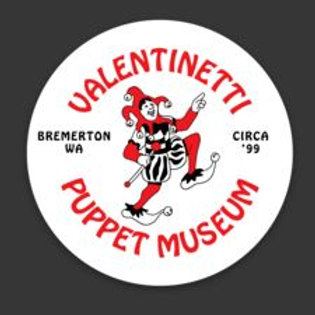 Valentinetti Puppet Museum Logo Magnet