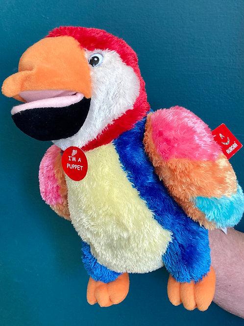 Aurora Parrot Hand Puppet