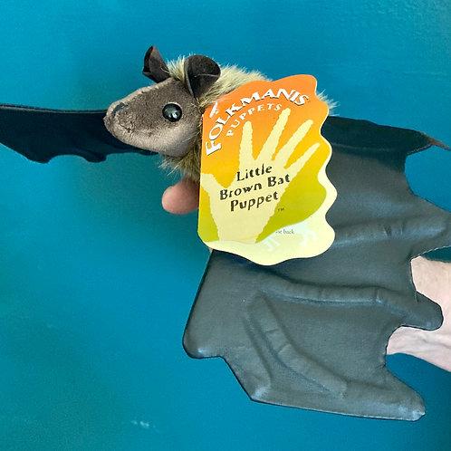 Little Brown Bat Hand Puppet (Folkmanis)